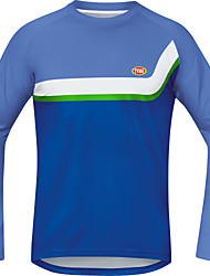 Sports Bike/Cycling Tops Men's Long Sleeve Breathable / Wearable / Ultra Light Fabric / Thermal / TeryleneClassic
