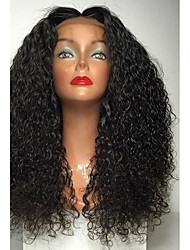 Women Synthetic Lace Front Wigs Top Quality High 180% Density Natural Black Wig Heat Resistant Water Curly Wigs
