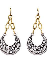 Da donna Collane con ciondolo Gioielli di Lusso Europeo Di tendenza Argento sterling Diamanti d'imitazione Luna Gioielli Gioielli Per