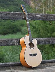 cheap -Beginner 40 Inch Wood Guitar