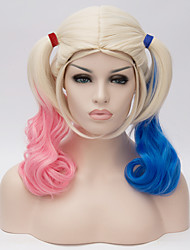 cheap -Women Synthetic Wig Blonde Cosplay Wig Halloween Wig Carnival Wig Costume Wig