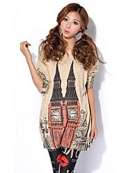 preiswerte -Damen Solide-Grundlegend Bluse