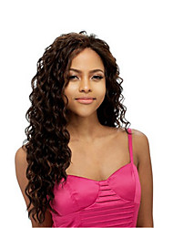 cheap -Synthetic Wig Curly Side Part Brown Women's Carnival Wig Halloween Wig Capless Wig Long Synthetic Hair