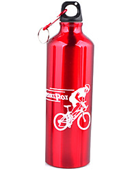 cheap -Unisex Outdoor Bicycle Cup Aluminum Sports Water Bottle 750ml Large Capacity Camping Cup And Water Bottles