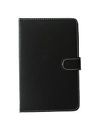 Недорогие -Кейс для Назначение Чехол Чехол для планшетов с клавиатурой Сплошной цвет Твердый Кожа PU для