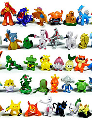 cheap -Pocket Little Monster Action Figures 144Pcs Cute Monster Mini Figures Toys Best &Birthday Gifts 3cm
