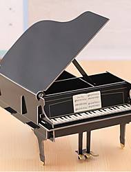DIY Cardboard Desktop Storage Box(Piano)