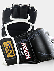 cheap -Boxing Bag Gloves / Pro Boxing Gloves / Boxing Training Gloves for Martial art / Mixed Martial Arts (MMA) Fingerless Gloves Protective Synthetic Leather / Leatherette / Polyester