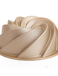 Chefmade Professional Baking Aluminum Fashionable Design Cakes 100*100*50