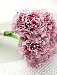 cheap -Hi-Q 1Pc Decorative Flowers Peonies Wedding Home Table Decoration Artificial Flowers