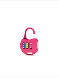 Password Hængelås Zinklegering Adgangskode låse opforKuffert Baggage