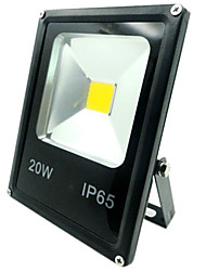 cheap -1pc 20W LED Floodlight IP65 Decorative Outdoor Lighting Warm/Cold White AC85-265V