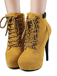 cheap -Women's Boots Spring / Fall / WinterPlatform / Snow Boots /  Gladiator / Comfort / Shoes & Matching Bags /