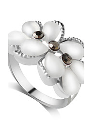 preiswerte -Nagel-Finger-Ringe Aleación Imitation Diamant Modisch individualisiert Silber Schmuck Party Alltag 1 Stück