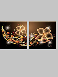 cheap -LED Canvas Art Fantasy Classic Traditional,Two Panels Horizontal Print Wall Decor For Home Decoration