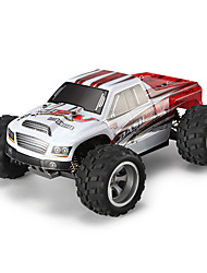 Carro com CR WL Toys A979-B 2.4G Off Road Car Alta Velocidade 4WD Drift Car Carroça 1:18 Electrico Escovado 70 KM / H Controlo Remoto