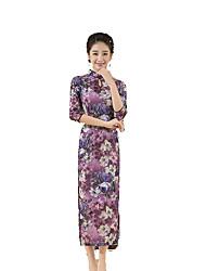 baratos -Tradicional Mulheres Saia Vestido de lápis Vestido de uma linha Cosplay Comprimento Longo Trajes da Noite das Bruxas
