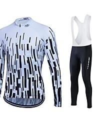 cheap -Sports Cycling Jersey Women's / Men's / Unisex Long Sleeve BikeBreathable / Thermal / Warm / Quick Dry / Fleece Lining / Moisture