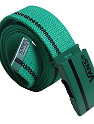 Unissex Cinto para a Cintura Vintage / Casual Liga Tecido Oxford Unissex