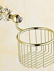 Недорогие -Держатель для туалетной бумаги / Ti-PVD Современный