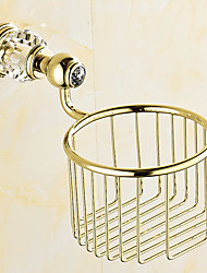 cheap -Toilet Paper Holder Contemporary Brass 13.5CM 13.5CM Toilet Paper Holder