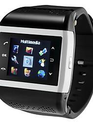 abordables -Reloj elegante para Android Standby Largo / Llamadas con Manos Libres / Radio FM / Pantalla Táctil / Video Reloj Cronómetro / Recordatorio de Llamadas / Calendario / 512MB / Cámara