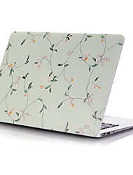 "Case for Macbook 13"" Macbook Air 11""/13"" Macbook Pro 13""/15"" MacBook Pro 13""/15"" with Retina display Flower Plastic Material Small Flower Color"