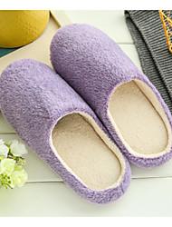 Unisex Pantofole e infradito Comoda Nappa Materiali personalizzati Primavera Autunno Inverno Casual Comoda PiattoBlu scuro Viola Blu Rosa