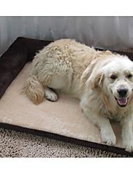 Cat / Dog Bed Pet Sofa Mats & Pads Soft Fabric / Corduroy Red / Brown