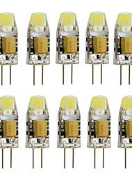 cheap -10pcs 2W 350 lm G4 LED Bi-pin Lights T 1 leds High Power LED Decorative Warm White Cold White AC/DC 12 AC 12V