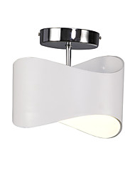 Недорогие -Модерн Монтаж заподлицо Потолочный светильник - Мини LED, 110-120Вольт 220-240Вольт Светодиодный источник света в комплекте