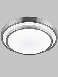 Flush Mount Lights LED 18W Bathroom Kitchen Light Round Simple Modern Diameter 35CM