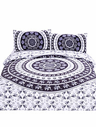 BeddingOutlet Vanitas Bedding Bohemia Modern Bedclothes Indian Home Black and White Printed Quilt Cover 3Pcs Hot Sale