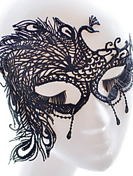 cheap -Halloween Mask Halloween Prop Halloween Accessory Masquerade Mask Sexy Lace Mask Headgear Garden Theme Novelty Holiday Fairytale Theme