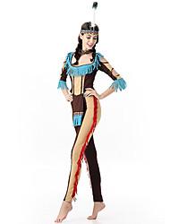 abordables -indio americano Disfrace de Cosplay Ropa de Fiesta Mujer Navidad Halloween Carnaval Oktoberfest Año Nuevo Festival / Celebración