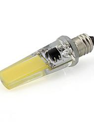 cheap -E11 LED Spotlight T 1 COB 350 lm Warm White Cold White K Decorative AC 220-240 V