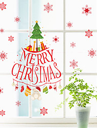 cheap -DIY Merry Christmas Wall Stickers Decoration Wall Stickers Removable Vinyl Wall Decals Xmas