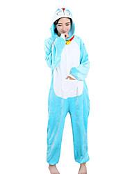 cheap -Kigurumi Pajamas  Leotard Onesie Halloween Animal Sleepwear Polar Fleece Kigurumi Unisex Halloween Character