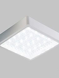 cheap -Modern/Contemporary LED Flush Mount Ambient Light For Bathroom Kitchen White 220-240V Bulb Included