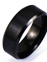 cheap -Men's Band Ring - Personalized, Punk, Rock 6 / 7 / 8 Black For Christmas Gifts / Daily / Casual