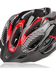 Недорогие -Взрослые Мотоциклетный шлем 19 Вентиляционные клапаны Пенополистирол + вспененный полиуретан ПК Виды спорта Горный велосипед Шоссейные велосипеды Велосипедный спорт / Велоспорт - Красный Синий