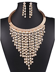 cheap -Women's Jewelry Set - Vintage, European, Fashion Include Necklace / Earrings Gold For Wedding / Party / Daily