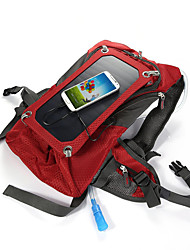 cheap -Solar Outdoor Riding Package Rucksack Hydration Pack & Water Bladder 42L Outdoor Red Canvas Solar Panel Iphone 7