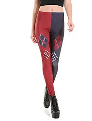 economico -le donne stampano legging, moda poliestriere sportiva slim chic colorato