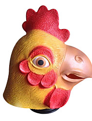 cheap -Halloween Masks Animal Mask Toys Party Chicken Polycarbonate Latex Rubber Horror 1 Pieces Halloween Masquerade Gift