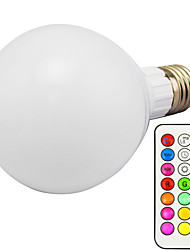 cheap -10W 3000lm E26 / E27 LED Smart Bulbs G95 1 LED Beads Integrate LED Dimmable Remote-Controlled RGB 85-265V