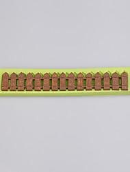 Недорогие -забор формы фонтан силиконовые формы для тортов украшения сахара кружева плесень рамон цвет