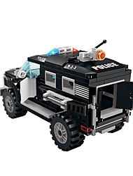 Riot special police car fight inserted toys
