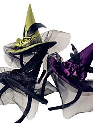 1pcs tête de sorcière cerceau halloween sorcière boucle Halloween accessoires articles de fête
