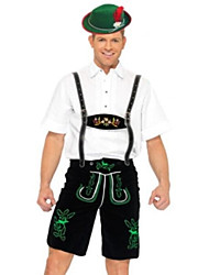 cheap -Oktoberfest / Bavarian Cosplay Costume / Party Costume Men's Halloween / Carnival / Oktoberfest Festival / Holiday Halloween Costumes